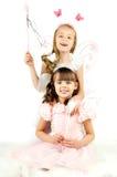 Μικρά κορίτσια Στοκ Εικόνες