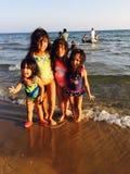 Μικρά κορίτσια Στοκ Φωτογραφίες