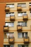 Μικρά μπαλκόνια Στοκ Εικόνες