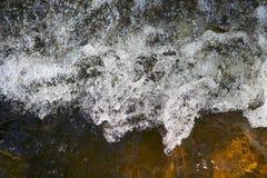 μικρά ορμητικά σημεία ποταμ Στοκ Εικόνες