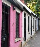 Μικρά σπίτια πεζουλιών, Σίδνεϊ, Αυστραλία Στοκ Εικόνα