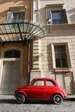 Μικρά συμπαγή εκλεκτής ποιότητας αυτοκίνητο και παράθυρα Στοκ Εικόνες