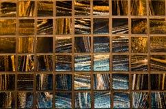 Μικρά τετραγωνικά οριοθετημένα κεραμίδια στοκ εικόνες