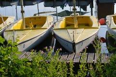 Μικρά sailboats Στοκ Εικόνα