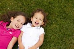 μικρές αδελφές Στοκ Φωτογραφία