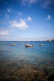 Μικρές βάρκες Στοκ Εικόνες