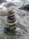 Μικρές κοίτες με τη σύσταση πολλών πετρών και βράχων backgroun Στοκ φωτογραφία με δικαίωμα ελεύθερης χρήσης