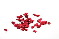Μικρές κόκκινες καρδιές Στοκ Εικόνα