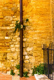 Μικρές μεσαιωνικές οδοί του SAN Gimignano στην Τοσκάνη - 10 Στοκ φωτογραφία με δικαίωμα ελεύθερης χρήσης