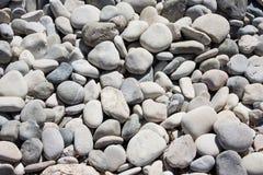Μικρές πέτρες της αγάπης Παραλία βράχου Aphrodite ` s - τόπος γεννήσεως Aphrodite ` s κοντά στην πόλη της Πάφος Στοκ φωτογραφία με δικαίωμα ελεύθερης χρήσης