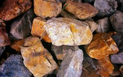 μικρές πέτρες Στοκ Εικόνες