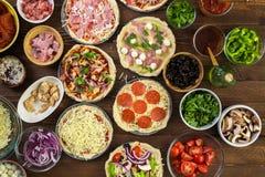 Μικρές πίτσες Στοκ Εικόνες