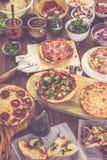 Μικρές πίτσες Στοκ εικόνες με δικαίωμα ελεύθερης χρήσης