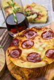Μικρές πίτσες Στοκ Φωτογραφία