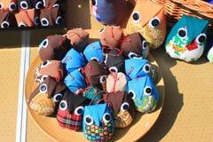 Μικρές τσάντες για τα trinkets Στοκ Εικόνα