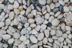 Μικρή άσπρη πέτρα Στοκ φωτογραφία με δικαίωμα ελεύθερης χρήσης