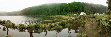 Μικρή λίμνη κρατήρων Στοκ φωτογραφίες με δικαίωμα ελεύθερης χρήσης
