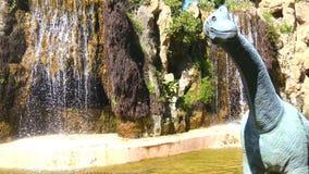 Μικρή λίμνη στο πάρκο Genoves, Καντίζ, Ανδαλουσία, Ισπανία απόθεμα βίντεο