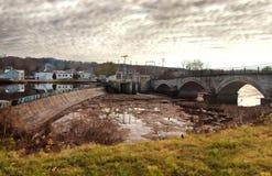 Μικρή αγροτική πόλη Στοκ εικόνες με δικαίωμα ελεύθερης χρήσης