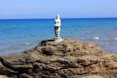 Μικρή γοργόνα… Νησί της Ζάκυνθου, Ελλάδα Στοκ Εικόνες
