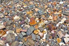 Μικρή δύσκολη κάλυψη η παραλία Στοκ Εικόνα
