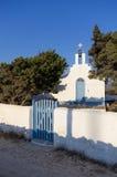 Μικρή εκκλησία στο νησί Antiparos, Κυκλάδες Στοκ φωτογραφίες με δικαίωμα ελεύθερης χρήσης