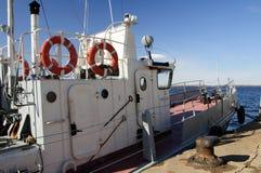 Μικρή επόμενη αποβάθρα σκαφών Στοκ Εικόνα