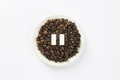 Μικρή διακοπή καφέ Στοκ Εικόνες