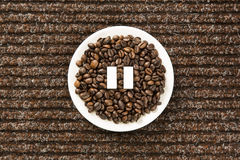Μικρή διακοπή καφέ Στοκ Εικόνα
