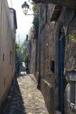 Μικρή ιταλική πόλη 5 παραλιών Στοκ Φωτογραφία