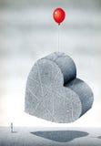 Μικρή καρδιά ανελκυστήρων ενεργειών Διανυσματική απεικόνιση