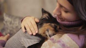 Μικρή κυρία αγαπών σκυλιών φιλμ μικρού μήκους