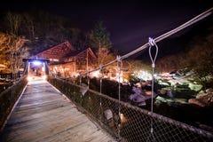 Μικρή ξύλινη γέφυρα στοκ φωτογραφίες