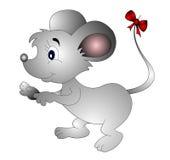 μικρή ουρά ποντικιών τόξων Στοκ εικόνες με δικαίωμα ελεύθερης χρήσης