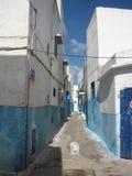 Μικρή οδός σε Kasbah της Rabat στοκ εικόνες με δικαίωμα ελεύθερης χρήσης