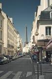 μικρή οδός της Γαλλίας Πα&rh Στοκ φωτογραφία με δικαίωμα ελεύθερης χρήσης