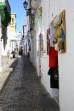 Μικρή οδός Arcos de στο Λα Frontera, Ισπανία Στοκ Φωτογραφίες