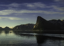 Μικρή περίοδος που πλέει με τη θάλασσα Στοκ Εικόνα