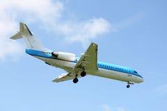 Μικρή προσγείωση αεροπλάνων Στοκ φωτογραφία με δικαίωμα ελεύθερης χρήσης