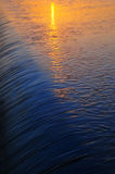 Μικρή πτώση νερού στο ηλιοβασίλεμα Στοκ εικόνες με δικαίωμα ελεύθερης χρήσης