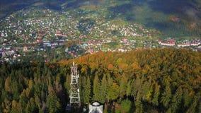 Μικρή πόλη στην επαρχία απόθεμα βίντεο