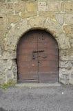 Μικρή πόρτα, Tarquinia Στοκ Εικόνες
