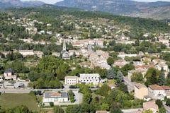Μικρή πόλη στη Γαλλία (Ardeche) Στοκ Εικόνες