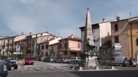 Μικρή πόλη Agnone στην επαρχία isernia, Molise Ιταλία φιλμ μικρού μήκους