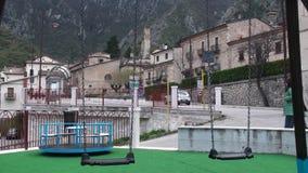 Μικρή πόλη Anversa στην επαρχία του l'Aquila, Abruzzo Ιταλία φιλμ μικρού μήκους