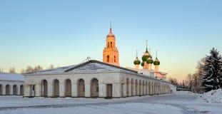 Μικρή πόλη Poshekhonie, περιοχή Yaroslavl, της Ρωσίας Στοκ εικόνες με δικαίωμα ελεύθερης χρήσης