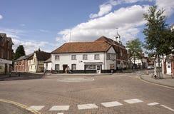 Μικρή πόλη Whitchurch στο Χάμπσαϊρ UK στοκ εικόνες με δικαίωμα ελεύθερης χρήσης
