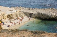 Μικρή της Κριμαίας παραλία Σεβαστούπολη Στοκ Εικόνα