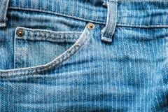 Μικρή τσέπη τζιν Στοκ φωτογραφίες με δικαίωμα ελεύθερης χρήσης