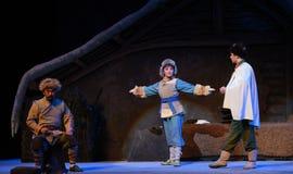 Μικρή â€œTaking τίγρη Montain οπερών Chang bao-Πεκίνο κυνηγών από Strategy† Στοκ Εικόνες